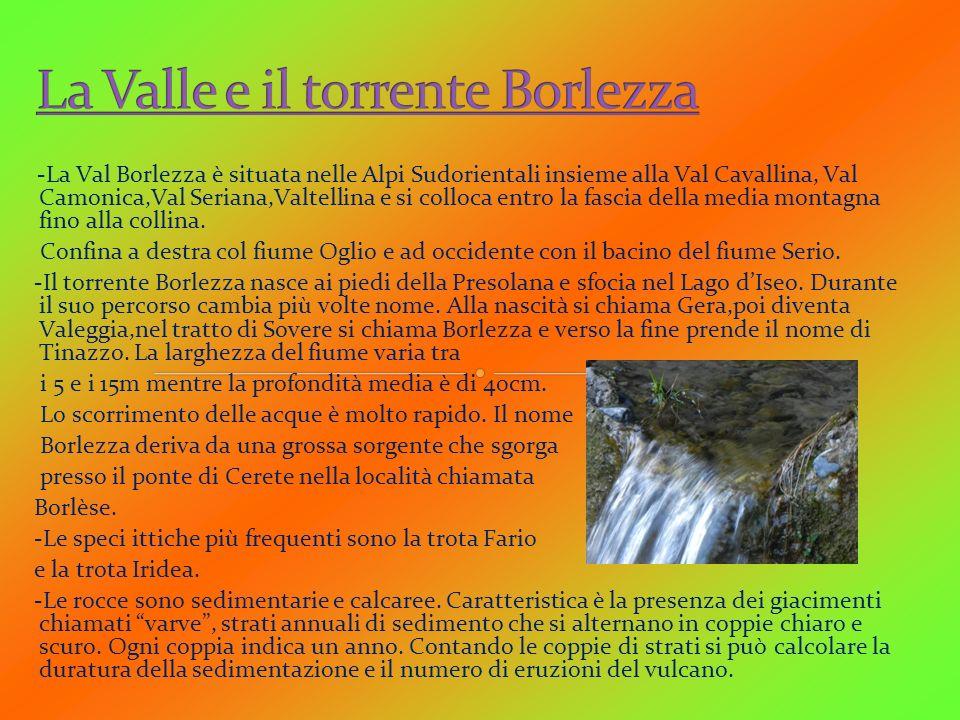 La Valle e il torrente Borlezza