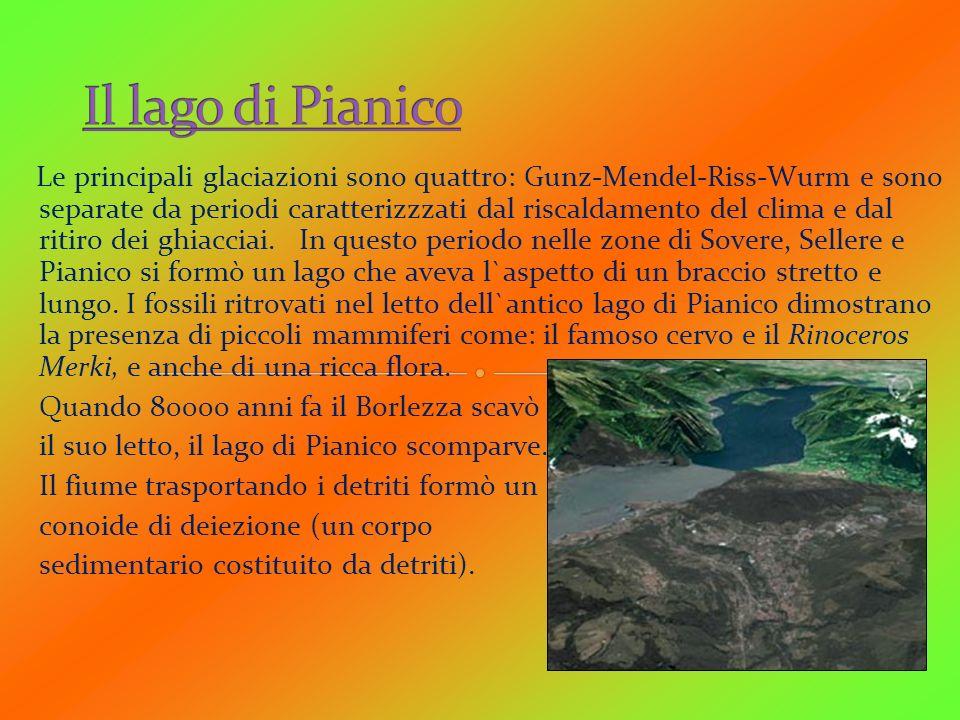 Il lago di Pianico Quando 80000 anni fa il Borlezza scavò