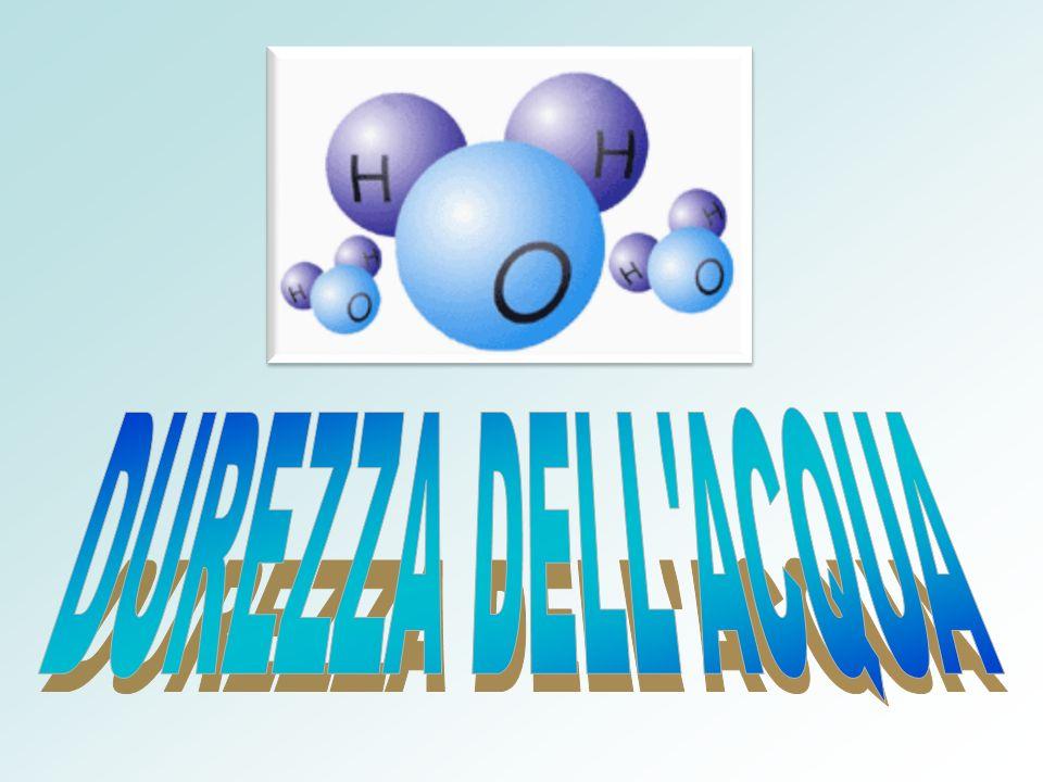 DUREZZA DELL ACQUA