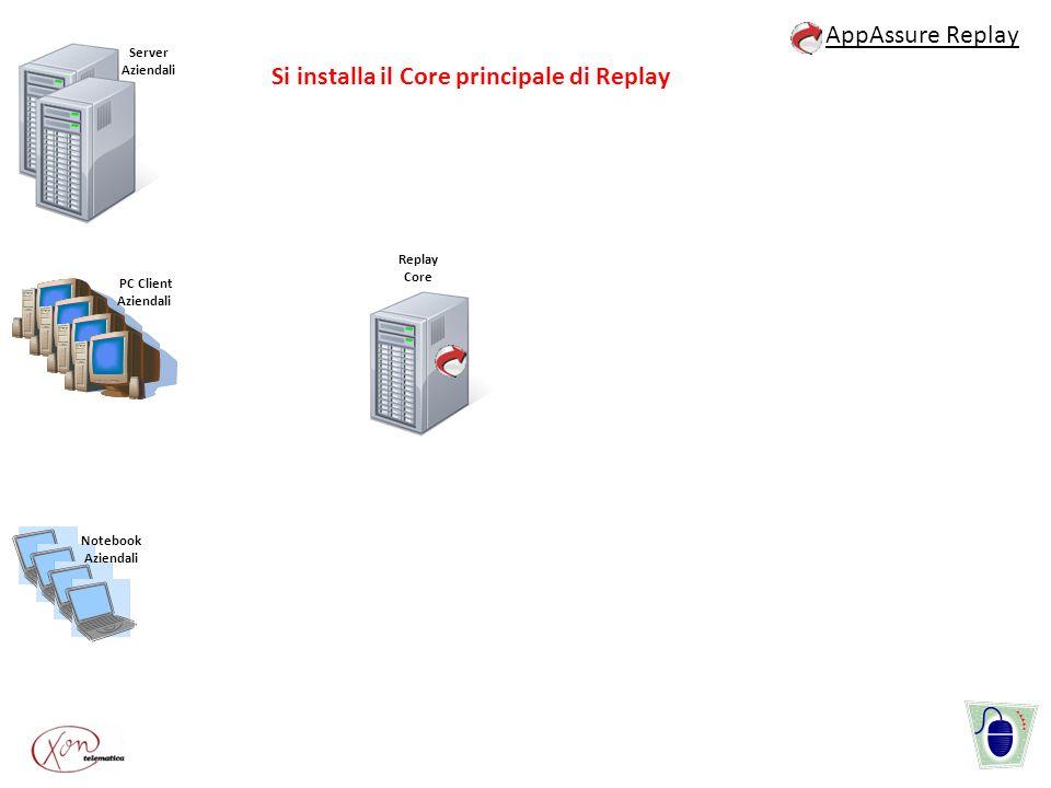 Si installa il Core principale di Replay