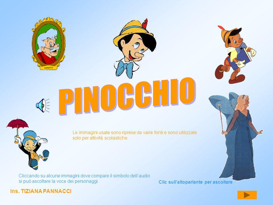 PINOCCHIO Ins. TIZIANA PANNACCI