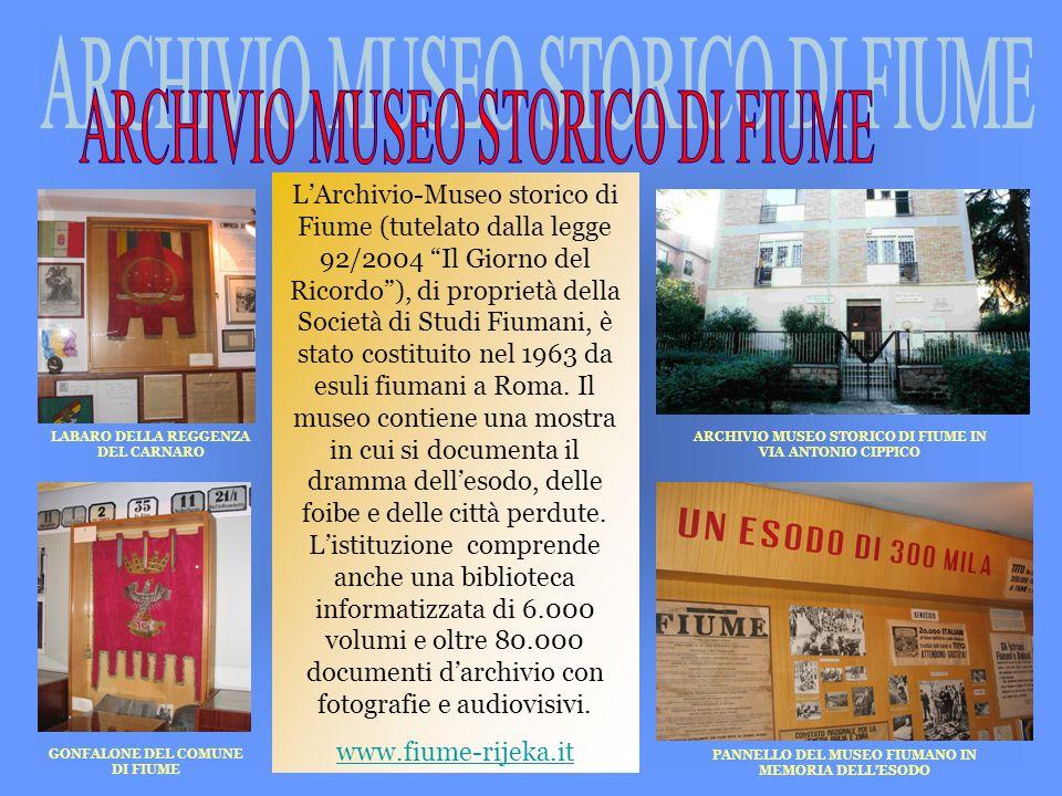 ARCHIVIO MUSEO STORICO DI FIUME
