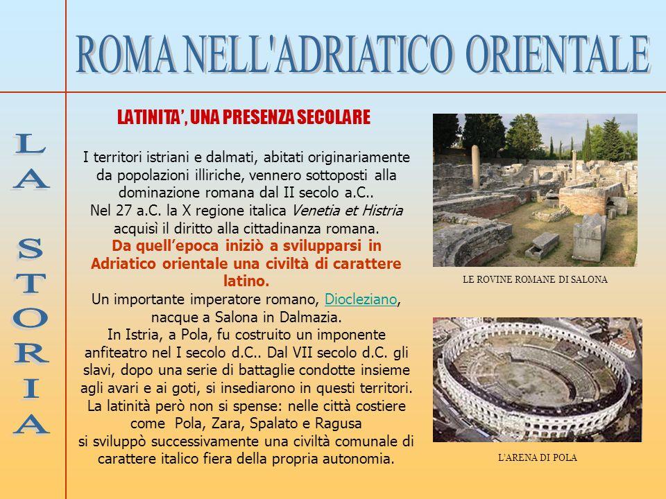 ROMA NELL ADRIATICO ORIENTALE