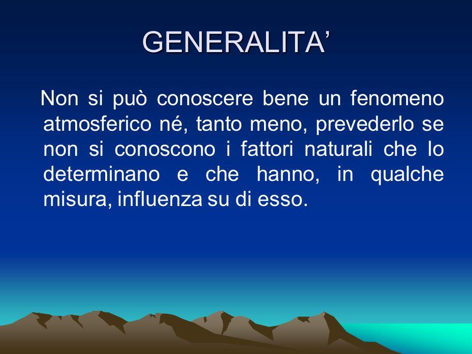 GENERALITA'