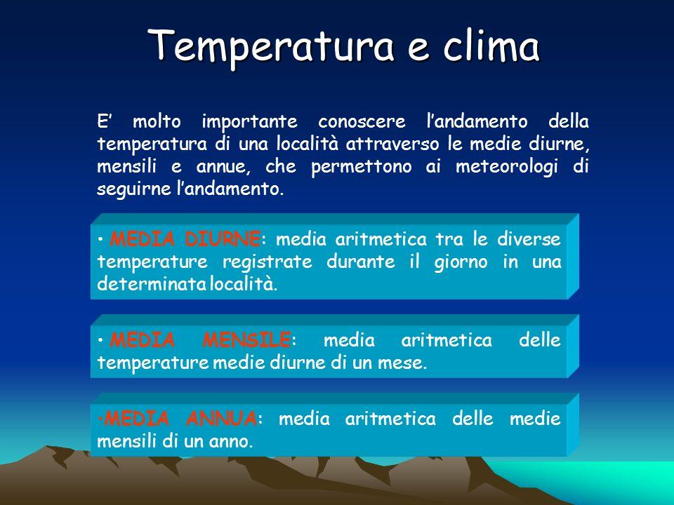 Temperatura e clima