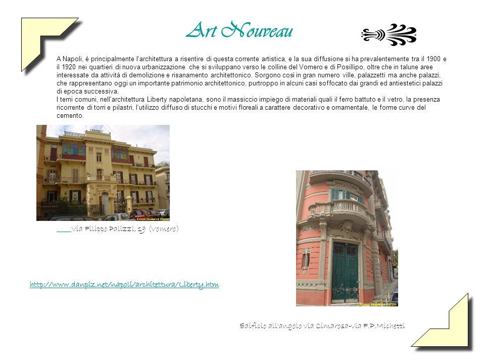 Edificio all angolo via Cimarosa-via F.P.Michetti