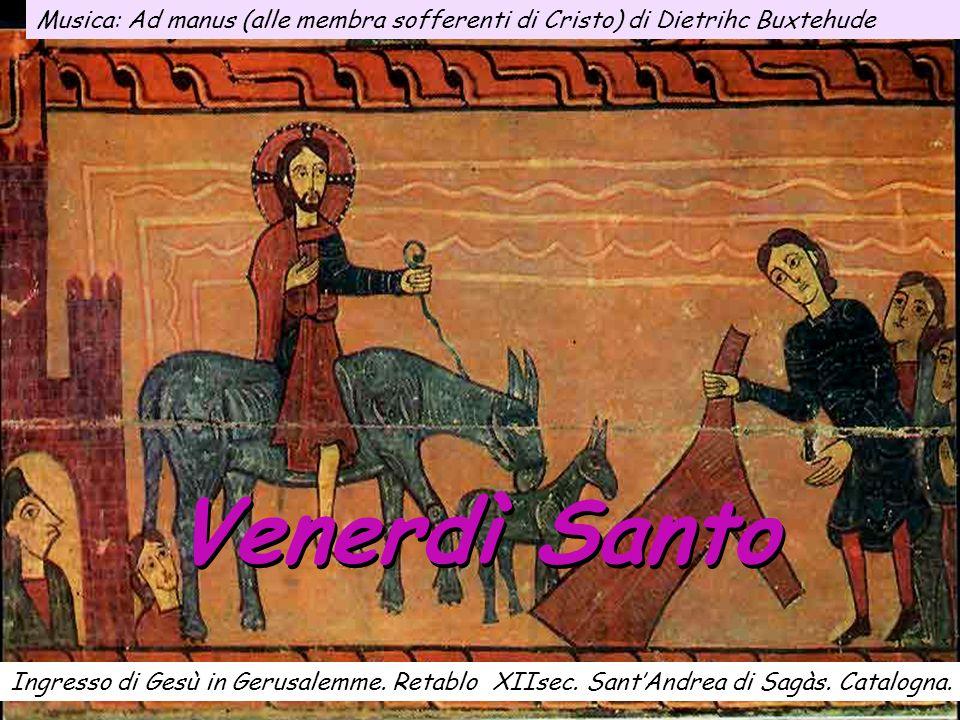 Musica: Ad manus (alle membra sofferenti di Cristo) di Dietrihc Buxtehude