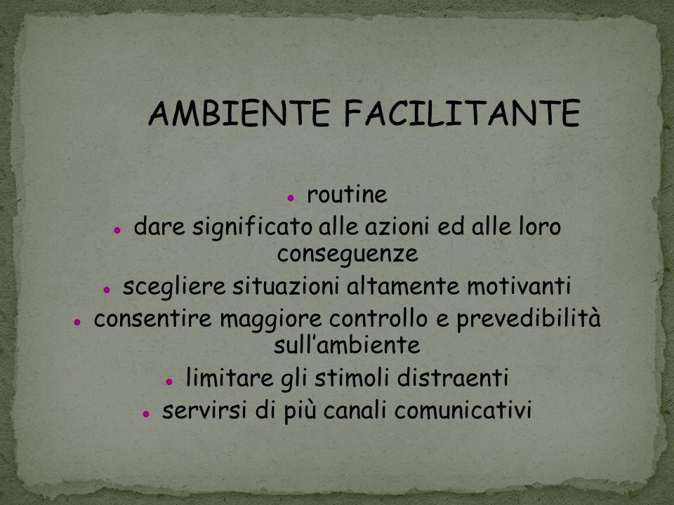 AMBIENTE FACILITANTE routine