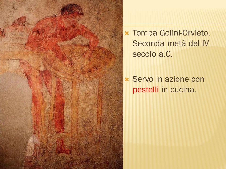 Tomba Golini-Orvieto. Seconda metà del IV secolo a.C.