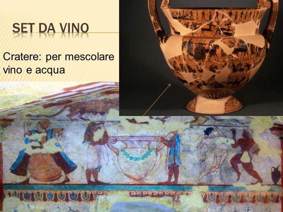 Set da vino Cratere: per mescolare vino e acqua