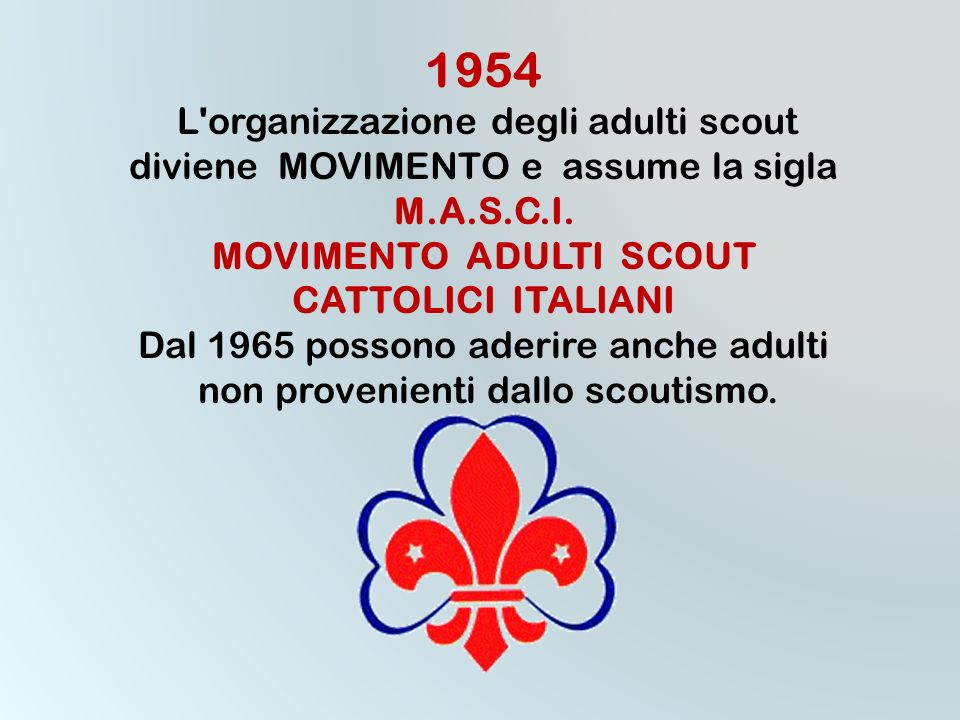 MOVIMENTO ADULTI SCOUT
