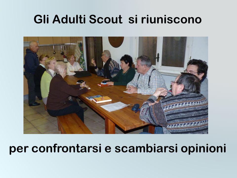 Gli Adulti Scout si riuniscono