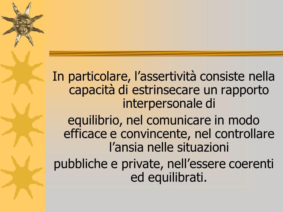 pubbliche e private, nell'essere coerenti ed equilibrati.
