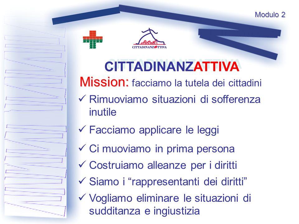 Mission: facciamo la tutela dei cittadini