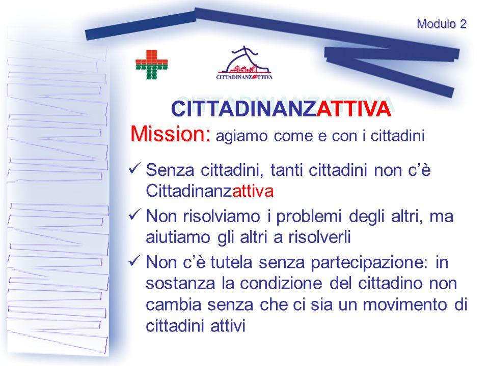Mission: agiamo come e con i cittadini