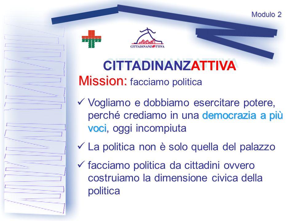 Mission: facciamo politica