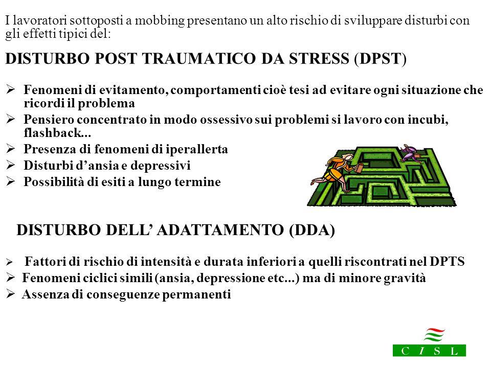 DISTURBO POST TRAUMATICO DA STRESS (DPST)