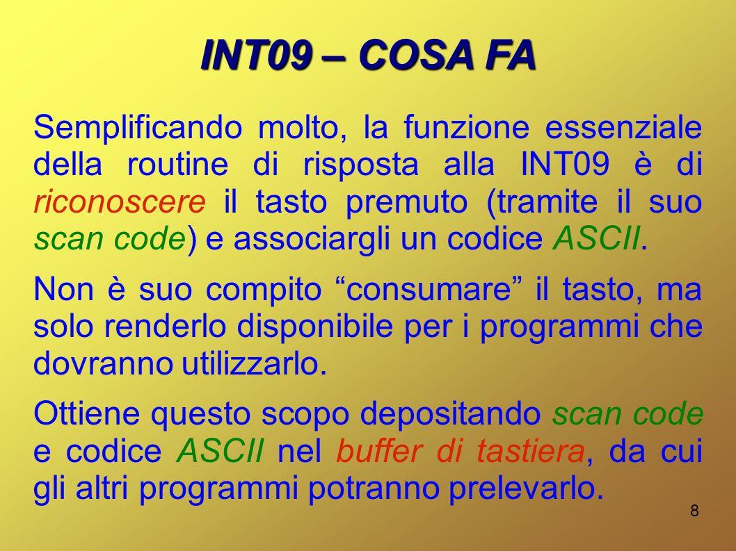 INT09 – COSA FA