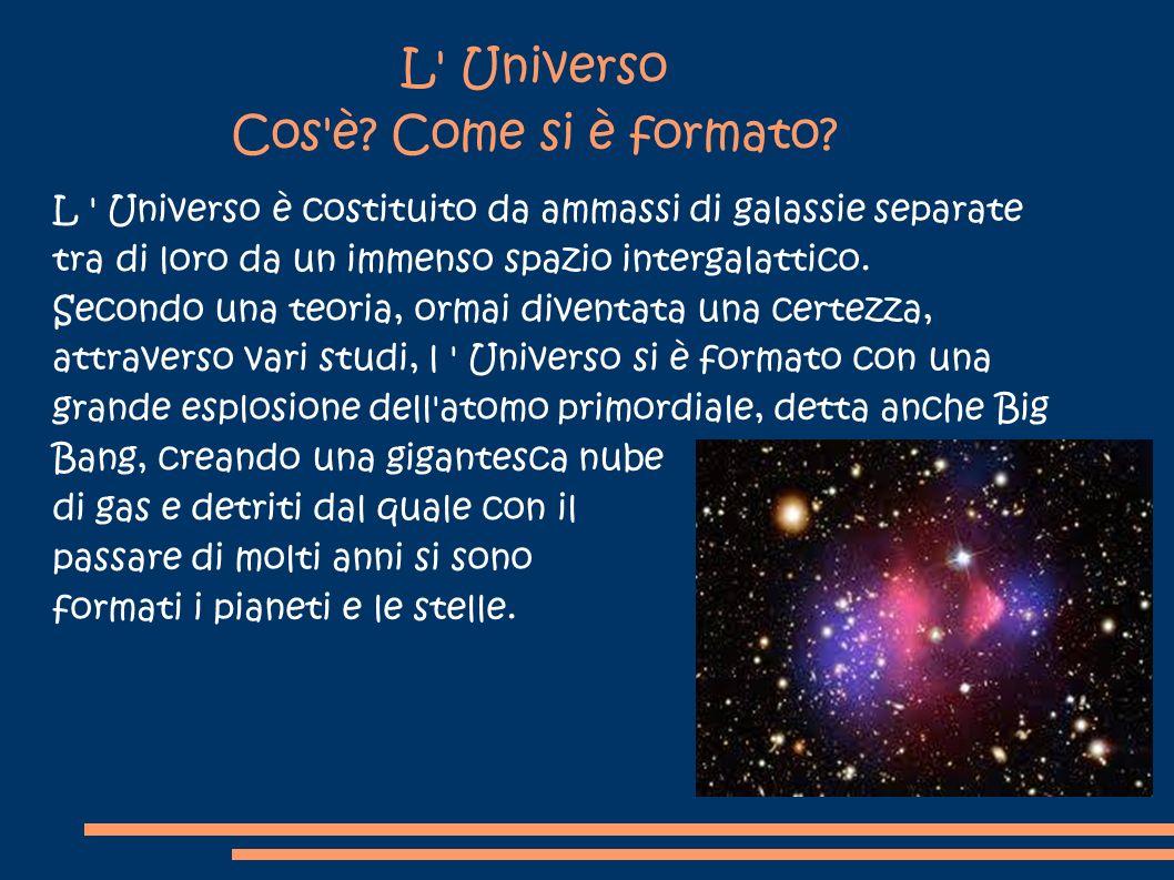 L Universo Cos è Come si è formato