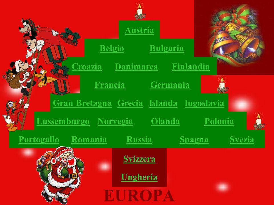 EUROPA Austria Belgio Bulgaria Croazia Danimarca Finlandia Francia