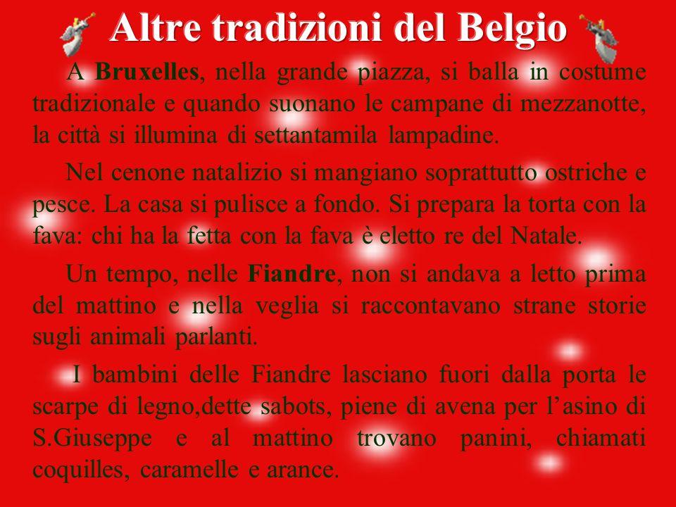 Altre tradizioni del Belgio