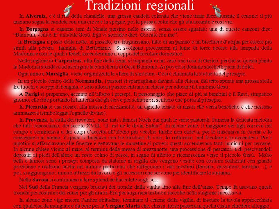 Tradizioni regionali