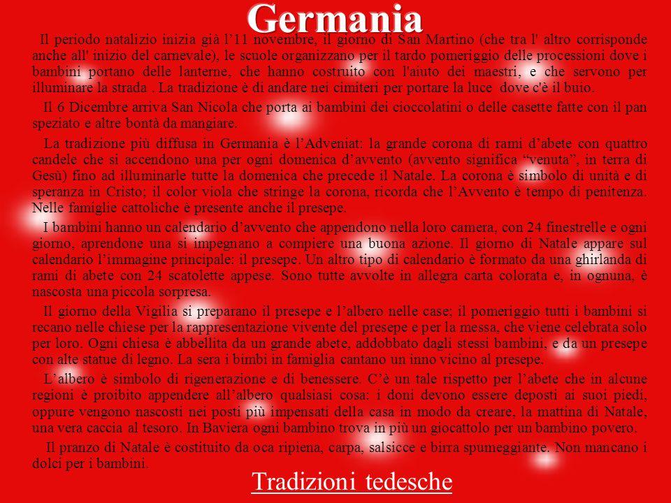 Germania Tradizioni tedesche