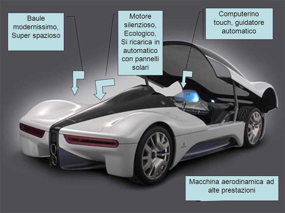 Computerino touch, guidatore automatico Motore silenzioso, Ecologico,