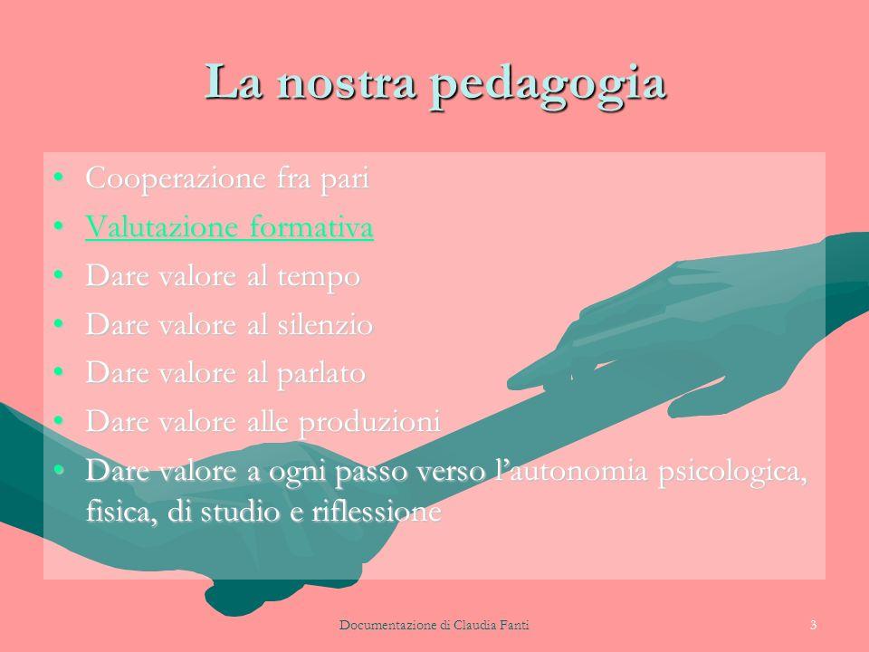 Documentazione di Claudia Fanti