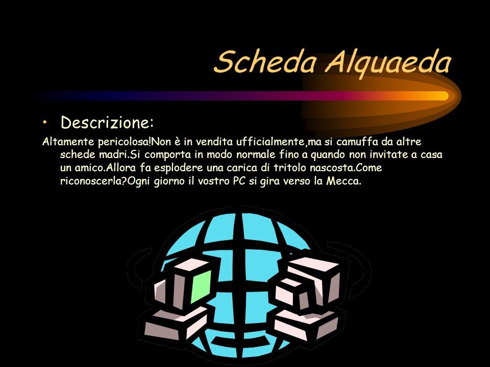 Scheda Alquaeda Descrizione: