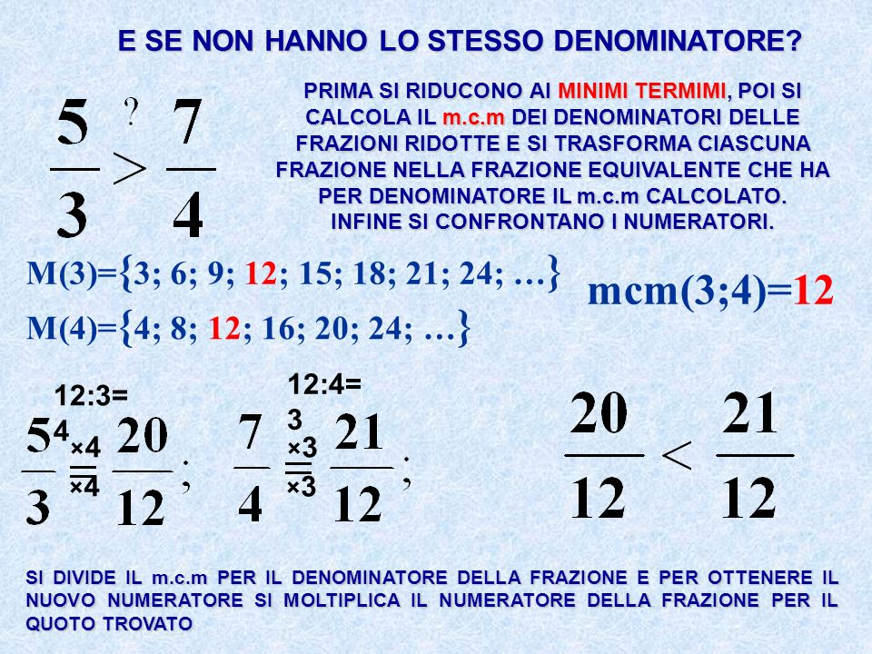 mcm(3;4)=12 M(3)={3; 6; 9; 12; 15; 18; 21; 24; …}
