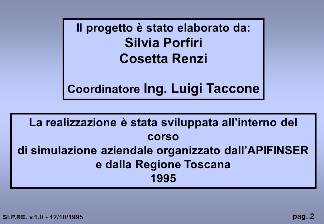 Silvia Porfiri Cosetta Renzi