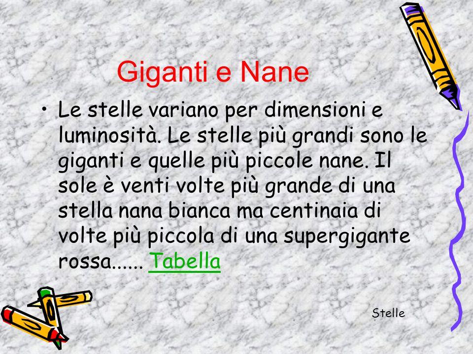 Giganti e Nane