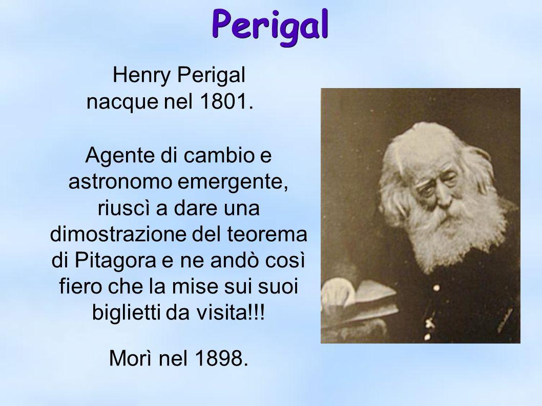 Perigal Henry Perigal nacque nel 1801.