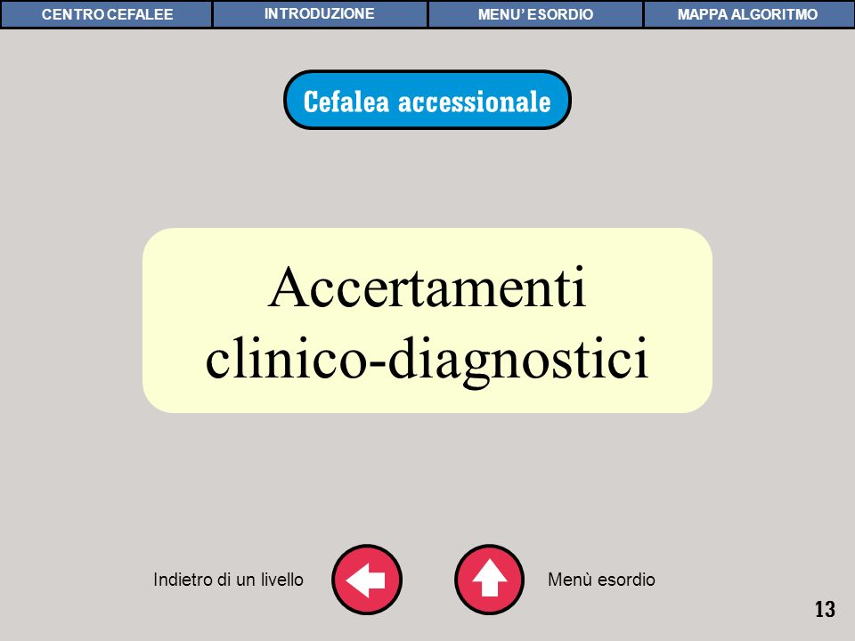 ACCERTAMENTI DIAGNOSTICI