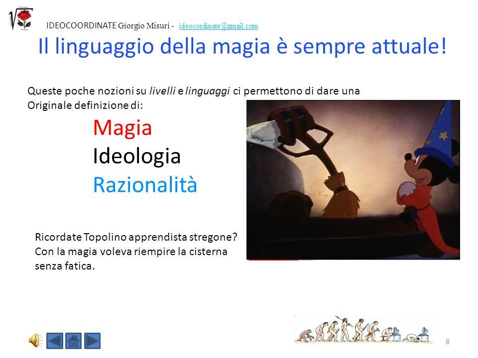 Il linguaggio della magia è sempre attuale!