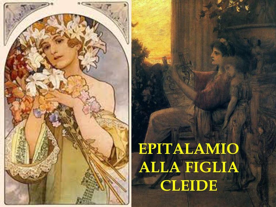 EPITALAMIO ALLA FIGLIA