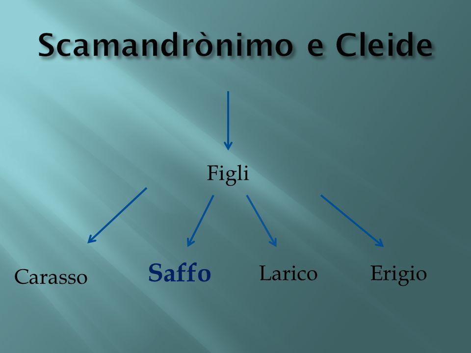 Scamandrònimo e Cleide