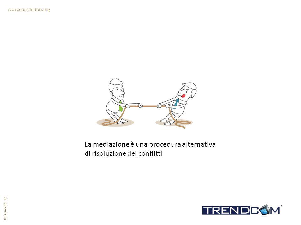 La mediazione è una procedura alternativa di risoluzione dei conflitti