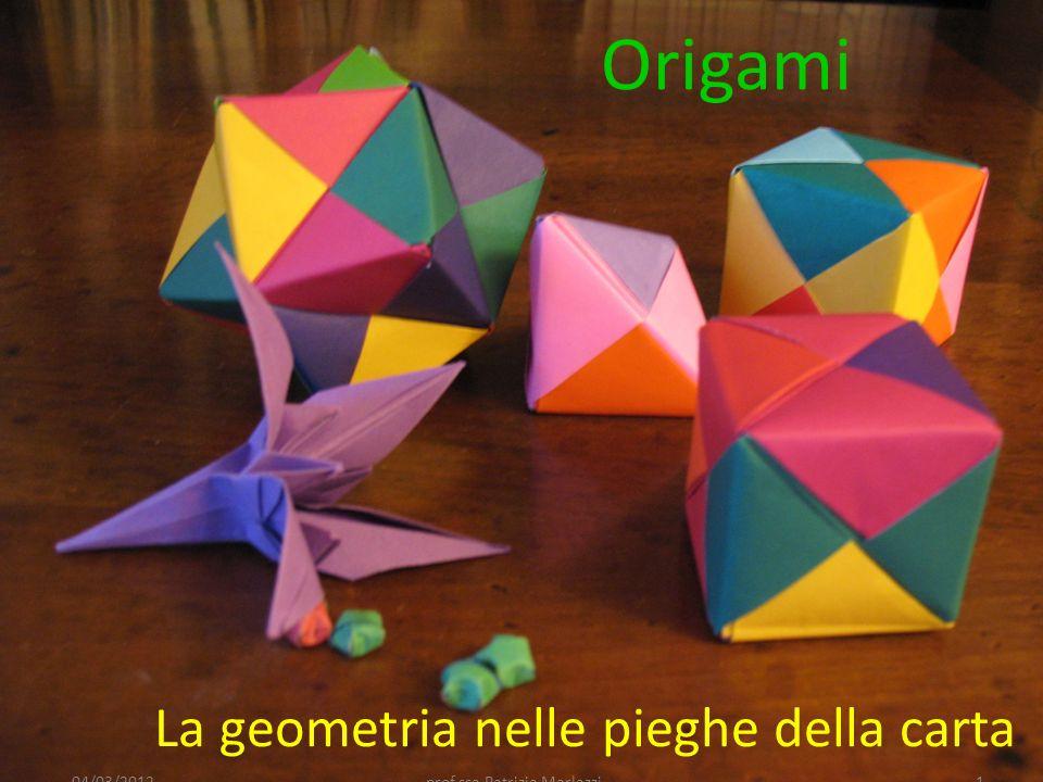 La geometria nelle pieghe della carta
