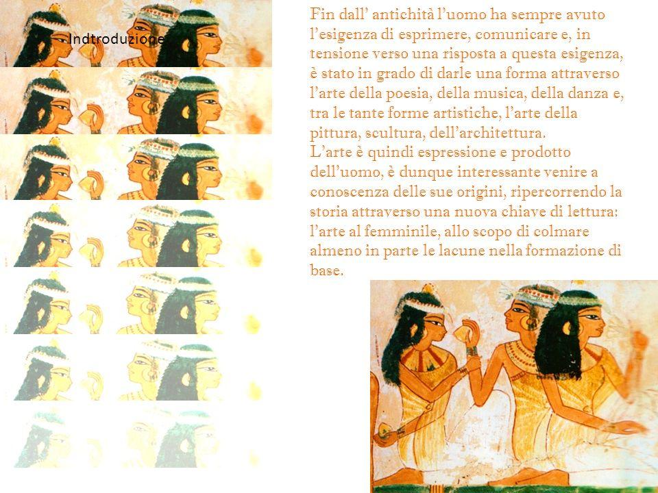 Fin dall' antichità l'uomo ha sempre avuto l'esigenza di esprimere, comunicare e, in tensione verso una risposta a questa esigenza, è stato in grado di darle una forma attraverso l'arte della poesia, della musica, della danza e, tra le tante forme artistiche, l'arte della pittura, scultura, dell'architettura.