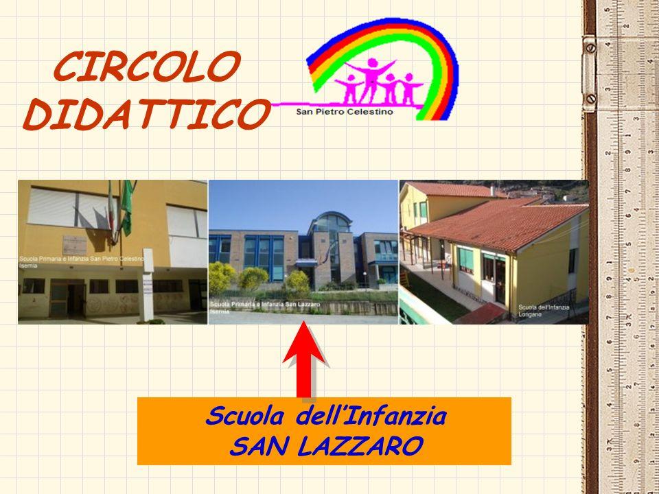 CIRCOLO DIDATTICO Scuola dell'Infanzia SAN LAZZARO