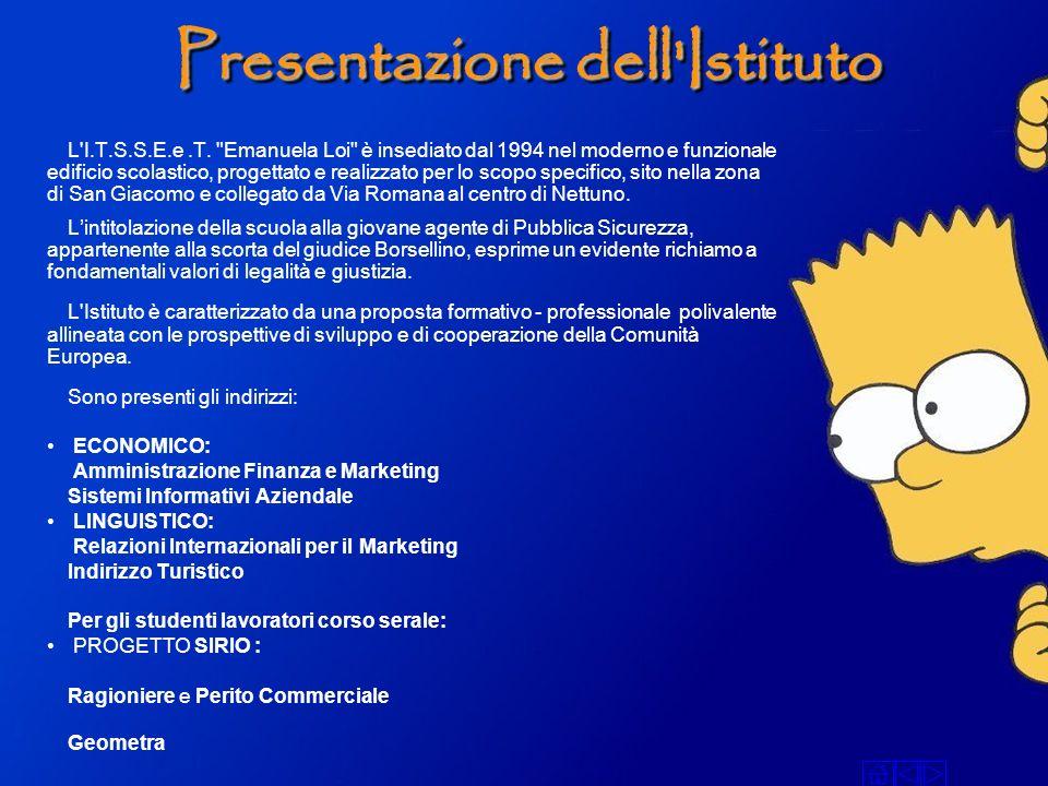 Presentazione dell Istituto