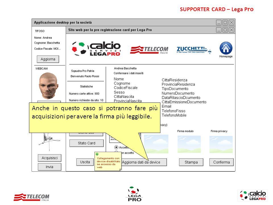 SUPPORTER CARD – Lega Pro