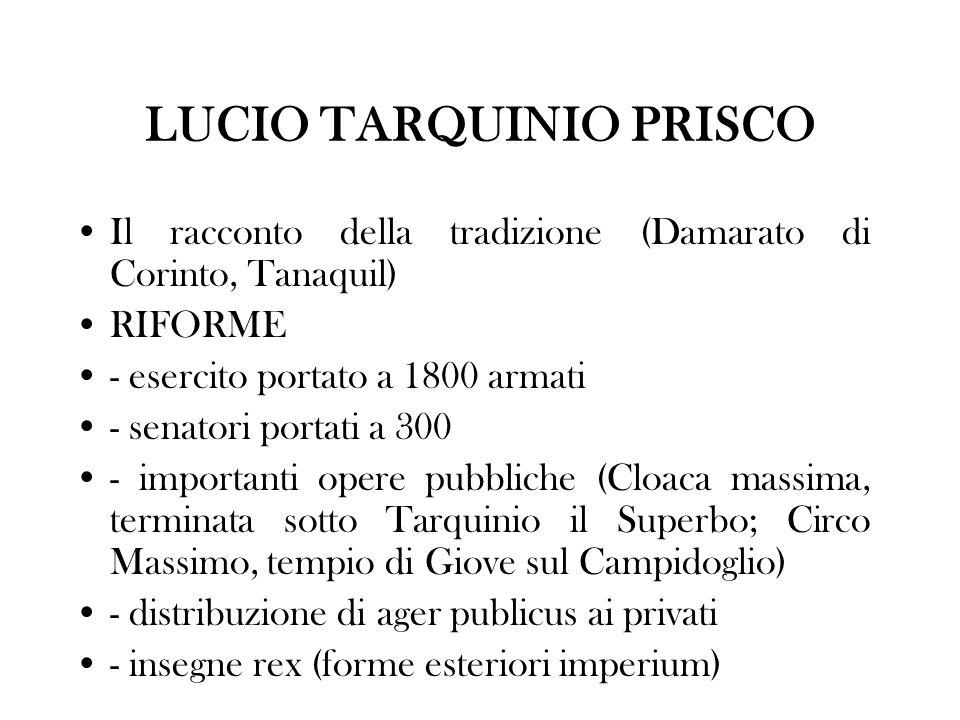 LUCIO TARQUINIO PRISCO
