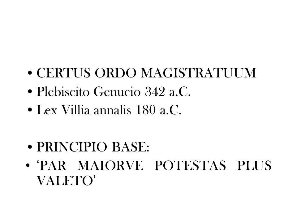 CERTUS ORDO MAGISTRATUUM