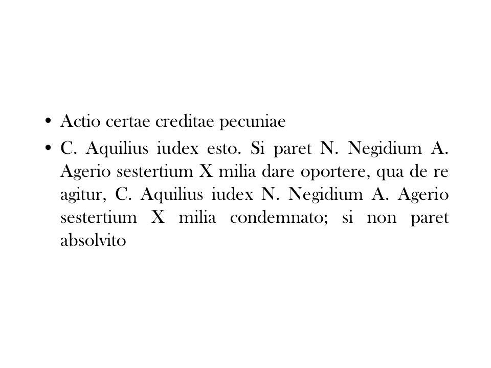 Actio certae creditae pecuniae