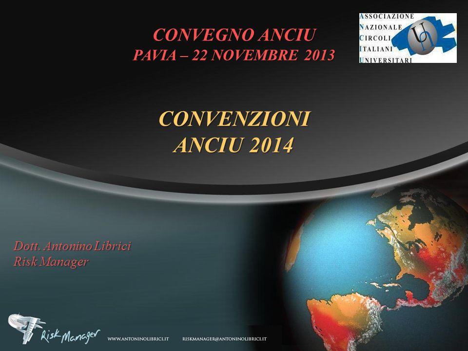 CONVENZIONI ANCIU 2014 CONVEGNO ANCIU PAVIA – 22 NOVEMBRE 2013