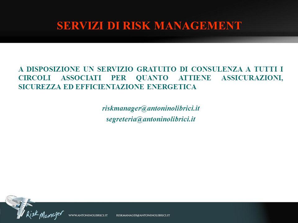 SERVIZI DI RISK MANAGEMENT