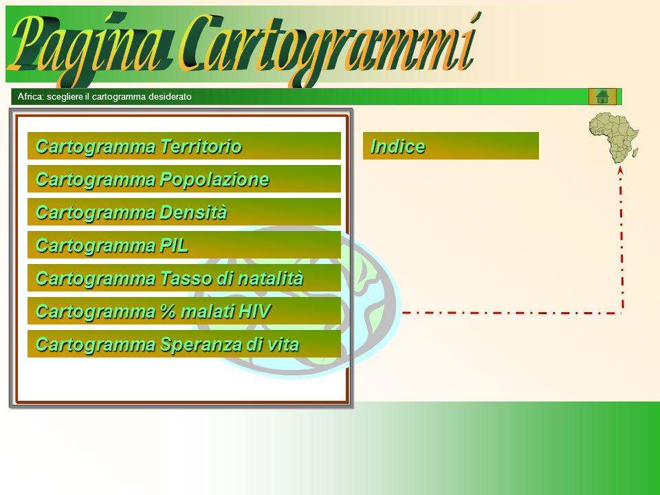 Pagina Cartogrammi Cartogramma Territorio Indice